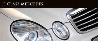 e class mercedes for wedding and business hire