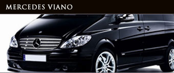 mercedes viana for corporate business chauffeur car hire