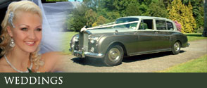 wedding car hire, wedding limousines